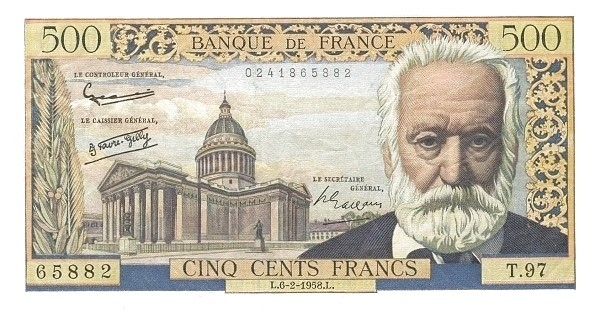 France 500 Francs (1953-1958)