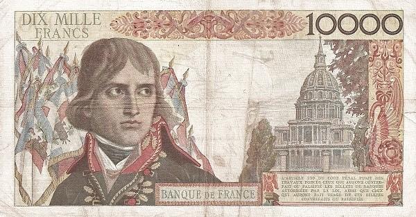 France 10000 Francs (1953-1958)