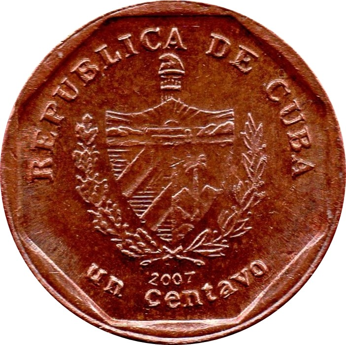 Cuba Convertible 1 Centavo