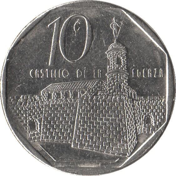 Cuba Convertible 10 Centavos