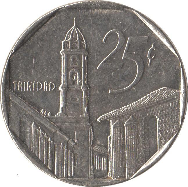 Cuban Convertible 25 Centavos
