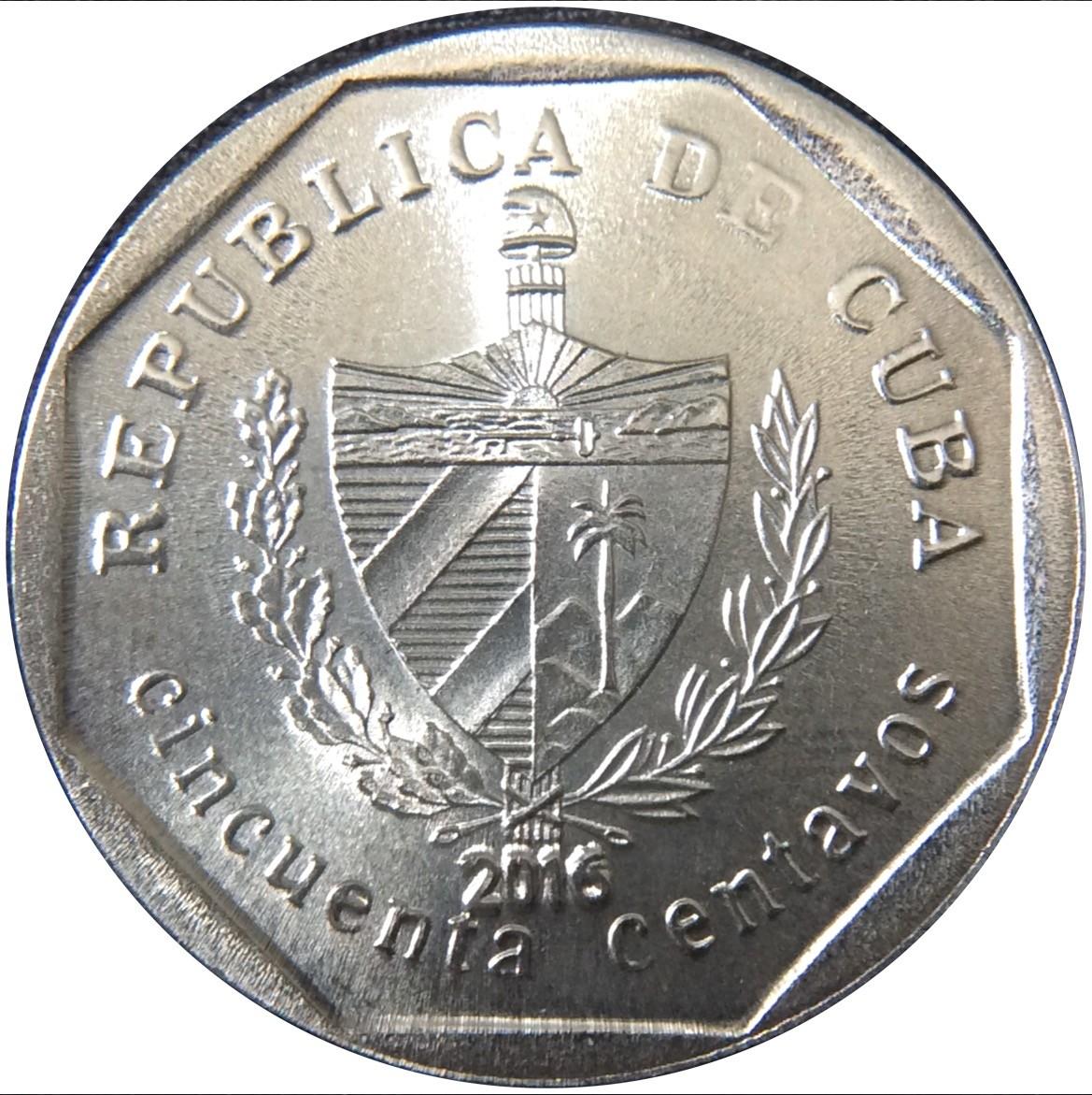 Cuba Convertible 50 Centavos