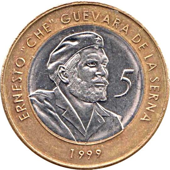 Cuba Convertible 5 Pesos