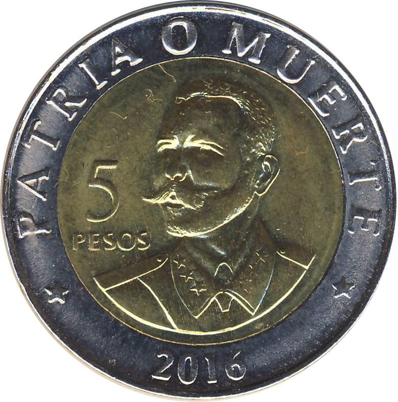 Cuba 5 Pesos