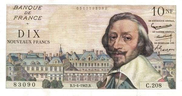 France 10 Nouveaux Francs (1959-1966)