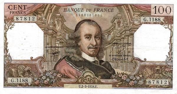 France 100 Francs (1962-1979)