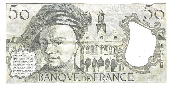 France 50 Francs (1968-1997)