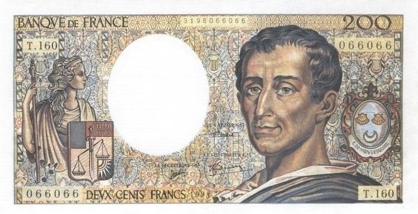 France 200 Francs (1968-1997)