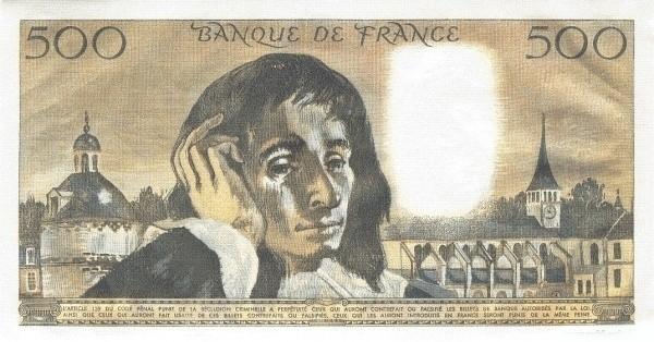 France 500 Francs (1968-1997)