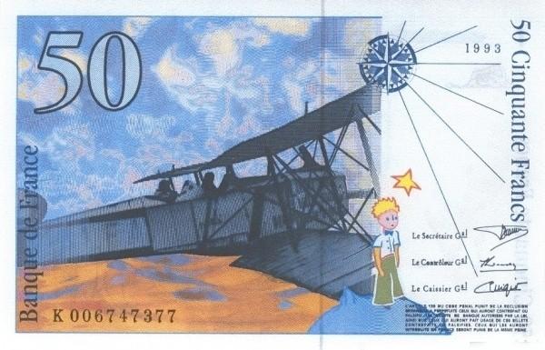 France 50 Francs (1992-1993)