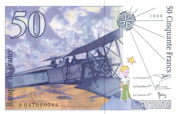 France 50 Francs (1994-1999)