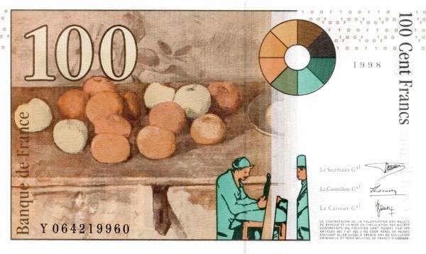 France 100 Francs (1993-2000)