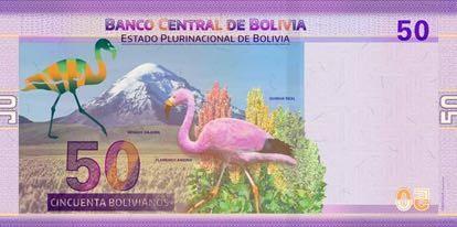 Bolivia 50 Bolivianos (2018)