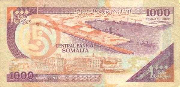 Somalia 1000 Shillings (2000)