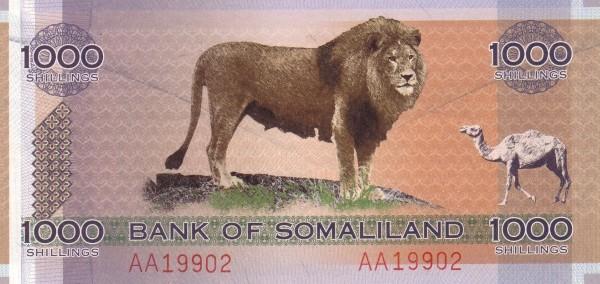 Somaliland 1000 Shillings (2006 Collector Series)