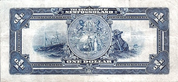Canada 1 Dollar (Government Of Newfoundland 1920 Treasury Note)