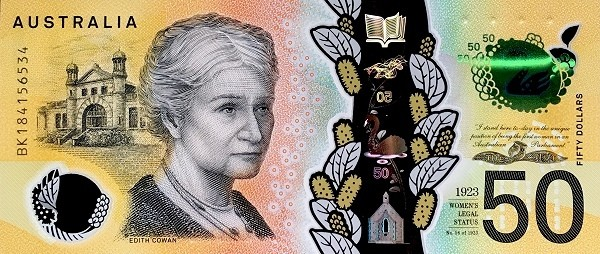 Australia 50 Dollars (2018)