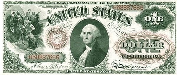 United States 1 Dollar (1874)