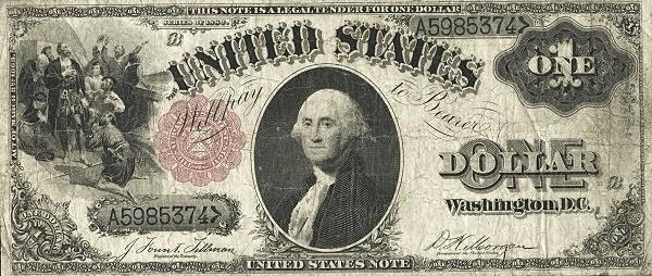 United States 1 Dollar (1880)