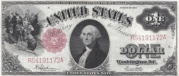 United States 1 Dollar (1917)
