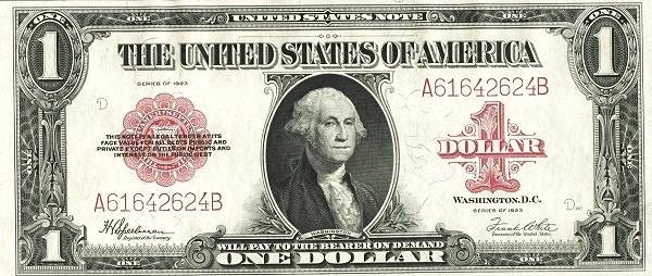 United States 2 Dollars (1923)
