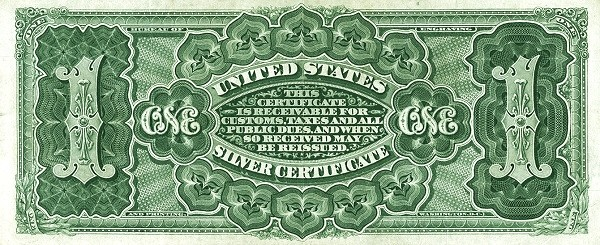 United States 1 Dollar (1886 Silver Certificate)