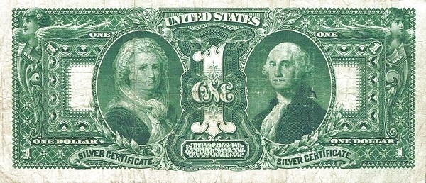 United States 1 Dollar (1896 Silver Certificate)