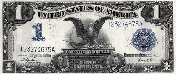 United States 1 Dollar (1899 Silver Certificate)