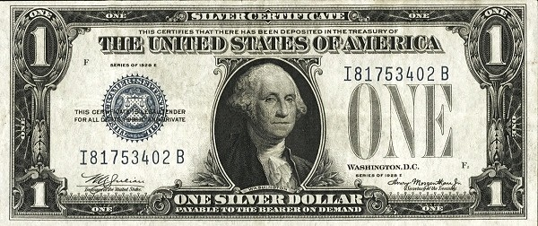 United States 1 Dollar (1928 Silver Certificate)