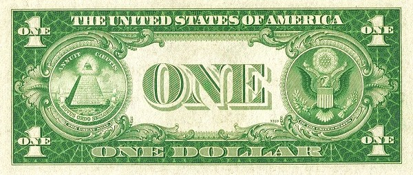 United States 1 Dollar (1935 Silver Certificate-Blue Seal-Red S)