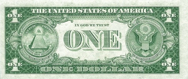 United States 1 Dollar (1935 Silver Certificate-Blue Seal-Serie G-H)