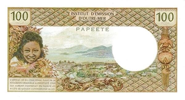 CFP 100 Francs