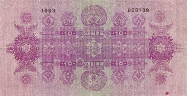 Austria 10 Schillinge (1925 Oesterreichische Nationalbank)