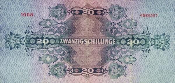 Austria 20 Schillinge (1925 Oesterreichische Nationalbank)