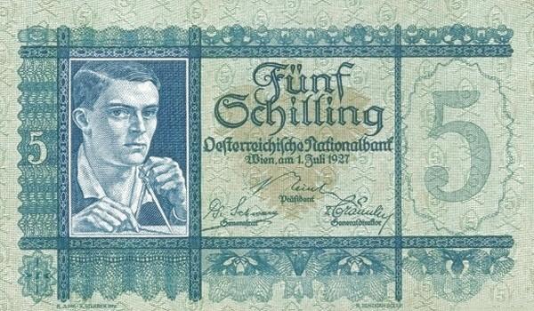 Austria 5 Schilling (1927-1930 Oesterreichische Nationalbank)