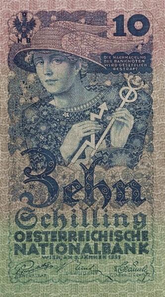 Austria 10 Schilling (1927-1930 Oesterreichische Nationalbank)