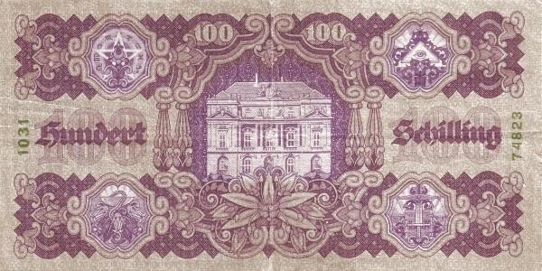 Austria 100 Schilling (1927-1930 Oesterreichische Nationalbank)
