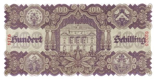 Austria 100 Schilling (1945 Oesterreichische Nationalbank)