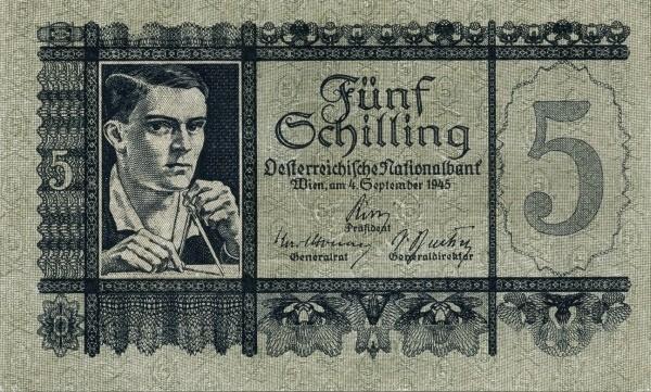 Austria 5 Schilling (1945-1947 Oesterreichische Nationalbank)