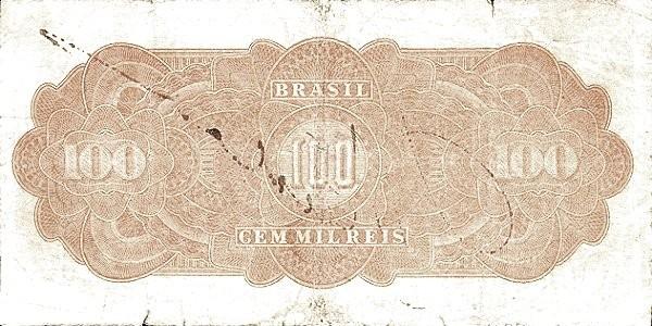 "Brazil 100 Mil Reis (1924 ""100 Mil Reis"")"