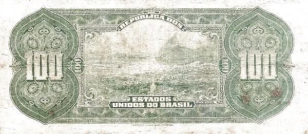 "Brazil 100 Mil Reis (1925 ""100 Mil Reis"")"