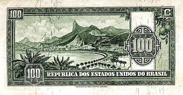"Brazil 100 Mil Reis (1936 ""100 Mil Reis"")"
