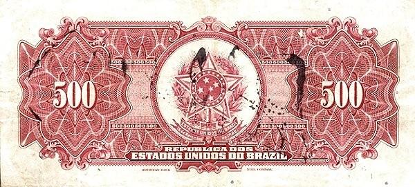 "Brazil 500 Mil Reis (1925 ""500 Mil Reis"")"