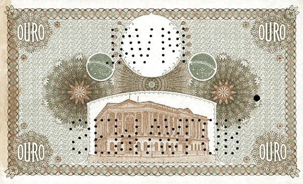Brazil 1000 Mil Reis (1906 Caixa de Conversão)