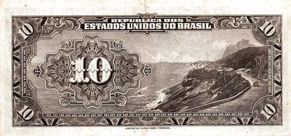 Brazil 10 Mil Reis (1926 Caixa de Estabilização)