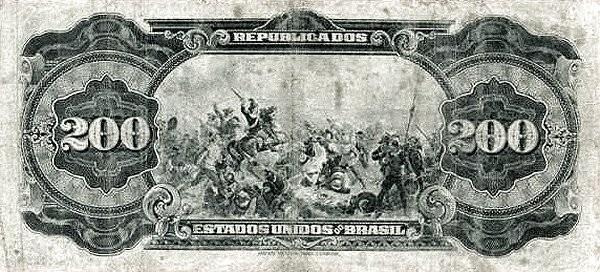 Brazil 200 Mil Reis (1926 Caixa de Estabilização)