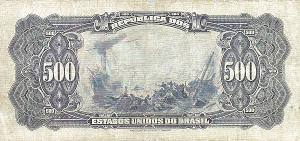 Brazil 500 Mil Reis (1926 Caixa de Estabilização)