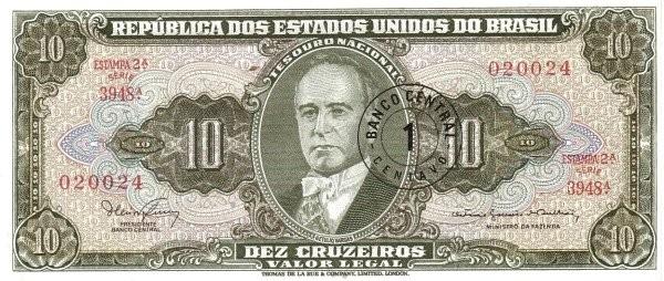Brazil 1 Centavo (1966 Cruzeiro Novo)