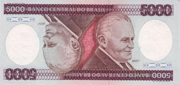 Brazil 5000 Cruzeiros (1981-1985 Banco Central do Brasil)