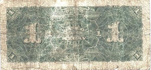 Ecuador 1 Sucre (1914-1924 Banco del Azuay-Commercial Banks)
